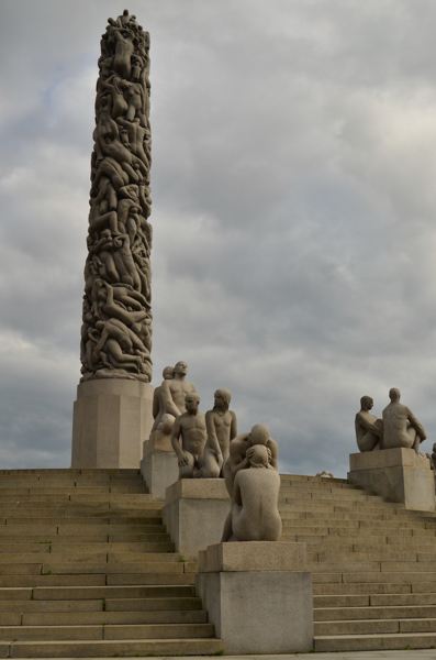 Things got a little weird at Vigeland Park. What is happening here?