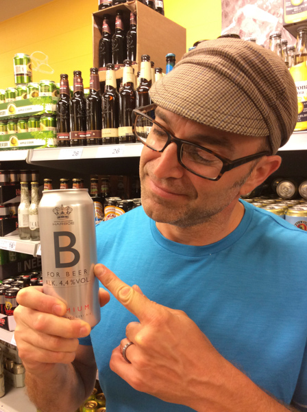 B is for Beer. Scott and Denmark are going to get along just fine.