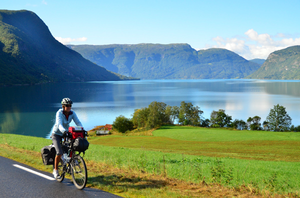 Fjorgeous day for a bike ride!
