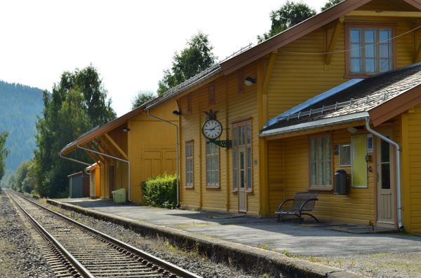 Old rail station
