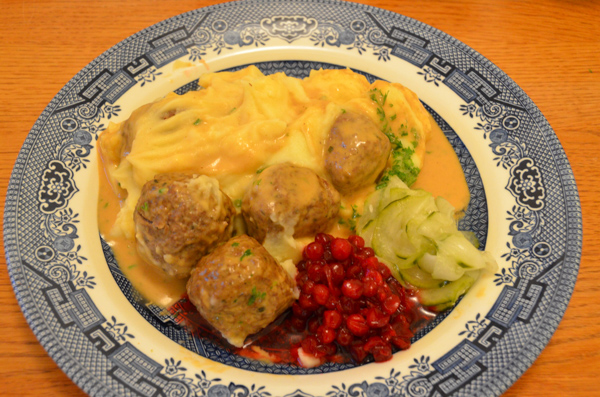 No visit to Sweden would be complete without Swedish meatballs.