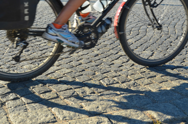 Cobblestones, not our favorite.