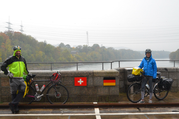 Swiss - German border crossing